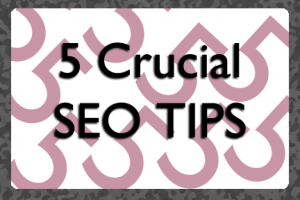 Five Crucial SEO Tips | COSO Media